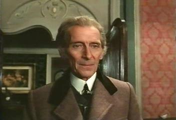 Image result for Peter cushing 1975